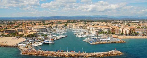 le port de frejus